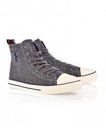 University Hi Gris Oscuro - #PoloShoes
