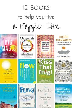 12 Books to Help you Live a Happier Life