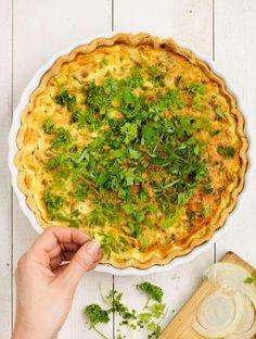 Swedish Recipes, Quiche, Chips, Breakfast, Food Ideas, Morning Coffee, Potato Chip, Quiches, Potato Chips