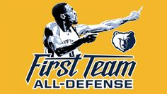 Tony Allen earns NBA All-Defensive First Team Honors | Memphis Grizzlies
