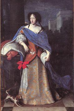 Prinzessin Henriette Adelheid Maria von Savoyen, Kurfürstin von Bayern (* 6. November 1636 in Turin; † 13. Juni 1676 in München). Gemahlin von Kurfürst Ferdinand Maria.