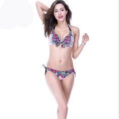 $28.69 (Buy here: https://alitems.com/g/1e8d114494ebda23ff8b16525dc3e8/?i=5&ulp=https%3A%2F%2Fwww.aliexpress.com%2Fitem%2F2016-new-retro-vintage-swimwear-floral-print-bikini-bangade-bathing-suit-push-up-biquini-sets-beach%2F32680242172.html ) 2016 new retro vintage swimwear floral print bikini bangade bathing suit push up biquini sets beach wear plus size monokini for just $28.69