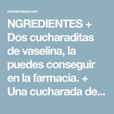 NGREDIENTES + Dos cucharaditas de vaselina, la puedes conseguir en la farmacia. + Una cucharada de aceite de oliva o de almendras, el que prefieras. + Una yema de huevo. + Una cucharadita de miel.