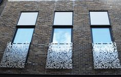 Design to Grace - Balcony panels, Westminster