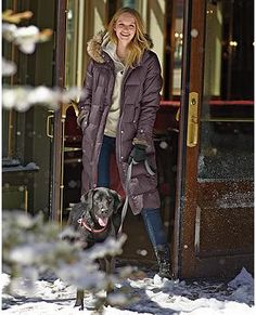 Down Duffle Coat | Eddie Bauer For Chicago winters. Gotta have ...