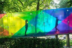 Bernard Tschumi'nin Groningen Pavyonu Bugünlerde Rengarenk