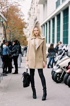 That coat… (via Vanessa Jackman: Paris Fashion Week SS 2013….Ginta)