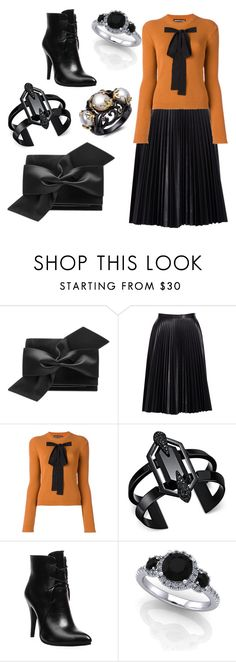 """""""Untitled #7656"""" by bj837101 ❤ liked on Polyvore featuring Victoria Beckham, Cusp by Neiman Marcus, Rochas and INC International Concepts"""