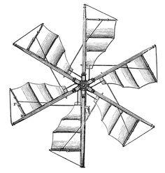 *The Graphics Fairy LLC*: Steampunk Clip Art - Propellers - Windmills