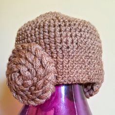 Baby Girl Princess Leia Hat by BeccaTheCraftmeister on Etsy