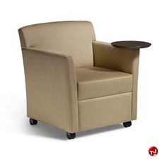 Picture of Martin Brattrud Heritage 910 Reception Lounge Tablet Arm Mobile Chair