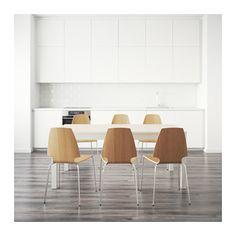 BJURSTA / VILMAR Pöytä + 6 tuolia  - IKEA