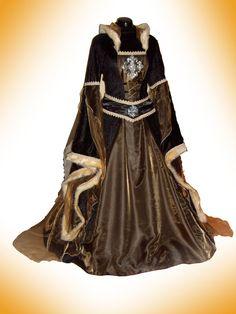 mittelalterlichen Kleid