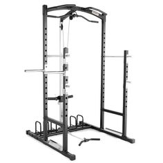 Marcy Home Gym Cage System Workout Station for Weightlifting, Bodybuilding and Strength Training - eStore Home Gym Equipment, No Equipment Workout, Training Equipment, Easy Workouts, At Home Workouts, Marcy Home Gym, Selfie, Workout Stations, Bodybuilding