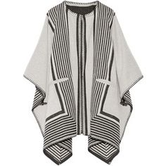 M.i.h Jeans Oversized reversible wool-blend poncho