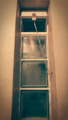 Bathroom window - glass blocks
