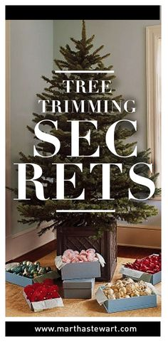 Tree Trimming Secrets | Martha Stewart Living - There's no wrong way to decorate a Christmas tree, but we're willing to share our secrets with those who'd like to emulate our style.