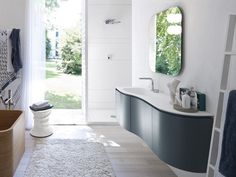 mobile lavabo con specchio comp n06 by ideagroup | bagno ... - Arredo Bagno Pozzuoli