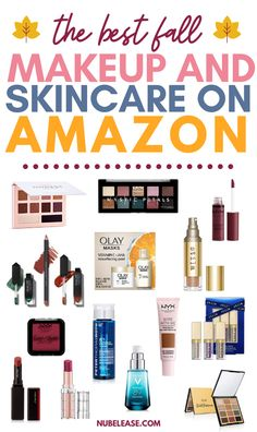 The best of fall makeup and skincare is on Amazon!  Find everything you need to keep your skin hydrated in autumn and show your mood with beautiful sultry makeup! #fallmakeup #autumnmakeup #fallskincare #fallbeauty Acne Makeup, Makeup Dupes, Skin Makeup, Sultry Makeup, Beautycounter Makeup, Makeup Set, Makeup Must Haves, Beauty Must Haves, Winter Makeup