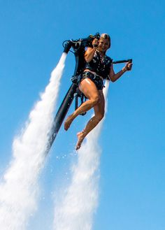 The Jetpack America team is the best in the industry. Read about each of our amazing employees, then come fly with us to see what we're all about! Boy Toys, Toys For Boys, Yamaha R6, Water Powers, Beach Adventure, Walk On Water, Water Activities, Submarines, Luxury Yachts