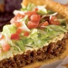 TACO PIE Recipe - From ZipList & Just a Pinch Recipe Club