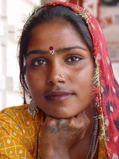Raky una preciosa gitana que conocí en Pushkar, Rajhastán.
