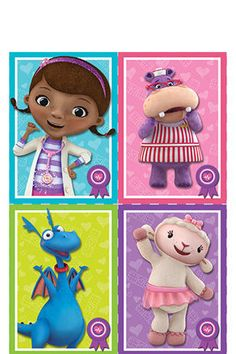 Doc McStuffins School of Medicine Muffin Decoration Tops