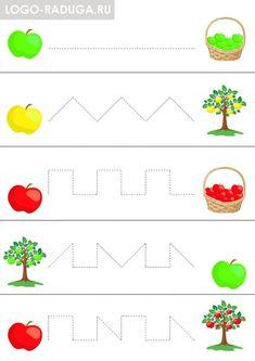Healthy Food Activities For Preschool, Preschool Writing, Toddler Learning Activities, Preschool Printables, Kindergarten Worksheets, Worksheets For Kids, Preschool Activities, Kids Learning, Education And Development