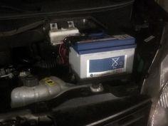 NV200 Evalia Tekna - Zweitbatterie oberhalb der Starterbatterie - Second battery above the starter battery
