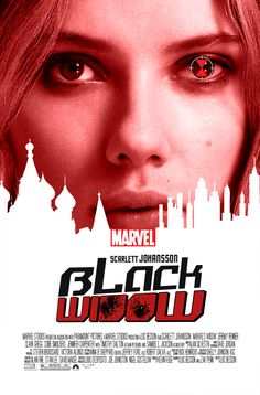Black Widow || Natasha Romanoff || by nottonyharrison || 736px × 1,117px || #fanart