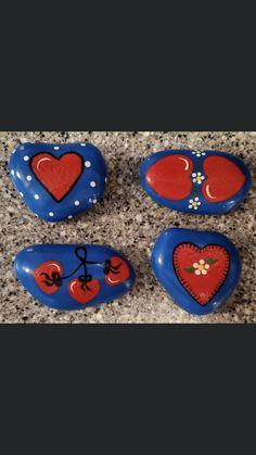 Pebble Painting, Pebble Art, Stone Painting, Stone Crafts, Rock Crafts, Arts And Crafts, Rock Painting Patterns, Rock Painting Designs, Painted Rocks Craft