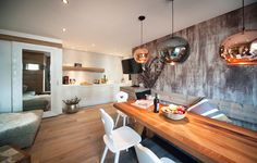 Edis Lodge Wohnraum Bar, Conference Room, Table, Furniture, Home Decor, Renting, Apartments, Centre, Benefits Of