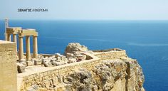 Ancient town of Lindos, Rhodes island, Greece Cheap Places To Visit, Places To See, Old Town Rhodes, Voyage Sri Lanka, Voyage Costa Rica, Greece Rhodes, Cap Vert, Island Tour, Corfu
