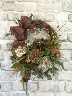 Burlap Floral Wreath, Front Door Wreath, Spring Wreath, Silk Floral Wreath, Outdoor Wreath, Grapevine Wreath, Leopard, January Wreath, Etsy