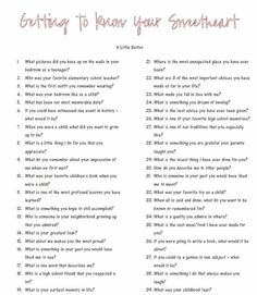 Getting to know your sweetheart better questions - Date Night Questions Dating Quotes, Dating Humor, Dating Funny, Healthy Relationships, Relationship Advice, Marriage Advice, Dating Advice, Strong Relationship, Long Distance Relationship Questions