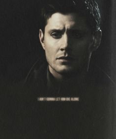 This is the moment. The one that I lose it at every single time I watch Swan Song. I cry before, I cry after but this is when I sob. #Supernatural #DeanWinchester #Brothers
