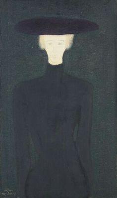 The Widow - Milton Avery  American 1885-1965