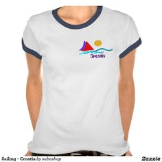 "colorful sailing Croatia, tshirt  Kroatie, gadgets, produkten, souvenirs, I love Croatia, tshirt, tshirts, Sailing - Croatia Shirt ""I love Croatia"", T-shirt, tshirt, Photo, tourism, Europe, Croatia, Croatian, Abstract, Art, Art-Illustration, Illustration, design, illustration, background,Adriatic sea, Adriatic , Mediterranean, Dalmatian, Dalmatia , Dalmatic , Dalmatië, vacation, travelling, journey, holiday, holidays, holiday, spare time, time off, voyage, excursion, sightseeing, trip…"