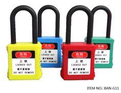 ddfa2882aba Insulated Safety Padlock  Nylon Safety Padlock  Keyed Alike  Keyed  Different  Master Key