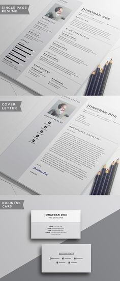 free minimalistic cvresume templates with cover letter template 11