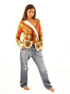 #Beautiful sweater  crochet jacket #2dayslook #crochetfashionjacket   www.2dayslook.com