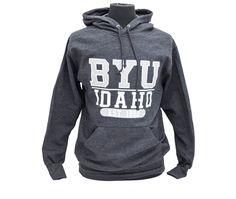 BYU-Idaho Men's Retro Heathered Hood