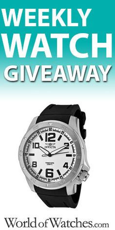 Enter To Win The Weekly Watch Giveaway! TERRIFIC GIVEAWAY! Enter here http://womanfreebies.com/sweepstakes/weekly-watch-giveaway For Your Chance To Win! You Know That I DEFINITELY ENTERED!!!! Thanks, Michele :)