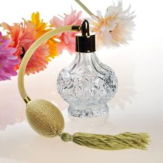 14.65$  Buy now - http://ali1kr.shopchina.info/go.php?t=32784455681 - 80ML Glass Crystal Women Refillable Perfume Bottle Mesh Atomizer Bulb with Tassels Long Spray Pump Scented Fragrance Atomizer 14.65$ #SHOPPING