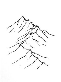 mountain drawing mountains line simple drawings clipart sketch tutorial map pencil fantasticmaps quick library maps draw range realistic tattoo landscape