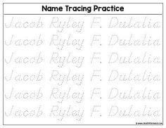 Printable Name Tracing, Name Tracing Worksheets, Printables, Names, Math, Create, Print Templates, Math Resources, Mathematics