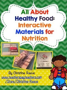 This unit contains mini-books, interactive notebook foldables, worksheets, and file folder activities presenting information about food groups and making healthy eating choices.  Students will be introduced to basic information on food groups, appropriate serving sizes of different food groups, and recommended guidelines for healthy eating.