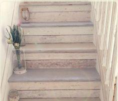 Trap verven met Krijtverf van Creta et Aqua – Maison Mansion