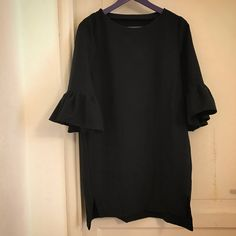 inari tee dress with added ruffles