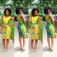 Beautiful colors... great summer dress!